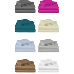 1000TC Style De Vie Cotton Sheet sets