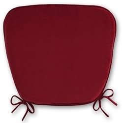 Bow Red Chair Pads