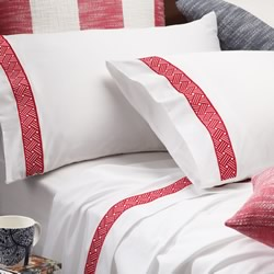 Archer Red Pillowcase