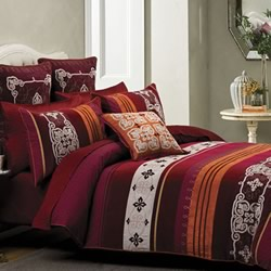 Bordeaux Quilt Cover Set