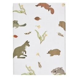 Australiana Fauna Cot And Bassinet Sheets