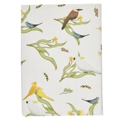 Australiana Flora Cot And Bassinet Sheets