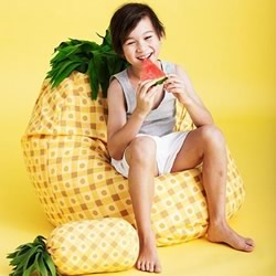 Pineapple Bean Bag