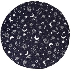 Starry Night Reversible Round Play Mat