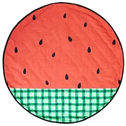 Watermelon Reversible Round Play Mat
