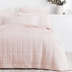 Abbotson Blush Bed Covers