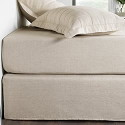 Abbotson Flax Plain Bed Skirt