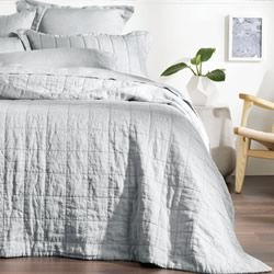 Abbotson Silver Bed Covers