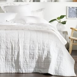 Abbotson White Bed Covers