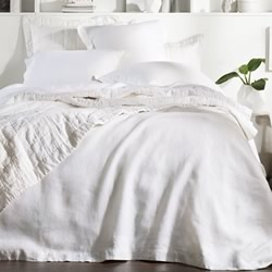Abbotson White Quilt Covers