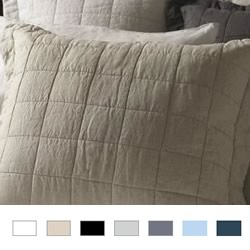 Abbotson Quilted Euro Pillowsham