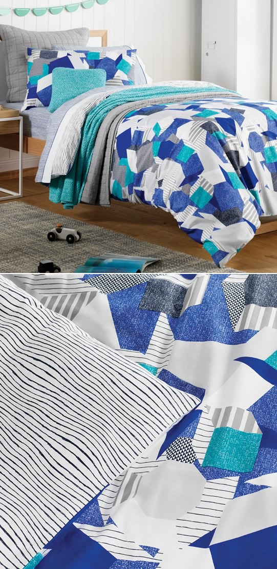 Altair Quilt Cover Set By Sheridan Junior Cottonbox
