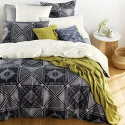 Malani Midnight Quilt Cover Set