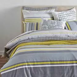 Tomas Chartreuse Quilt Cover Set