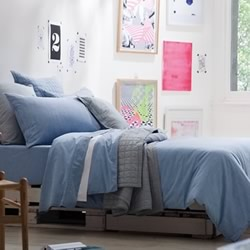 Reilly Chambray Quilt Cover Set