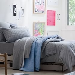 Reilly Fog Quilt Cover Set