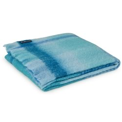 Mohair Neptune Throw