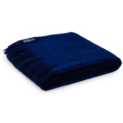 Admiral Mohair Throw