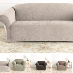Damask Jacquard Sofa Covers