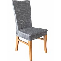 Signature Grey Dining Chair Cover