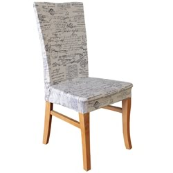 Signature Natural Dining Chair Cover