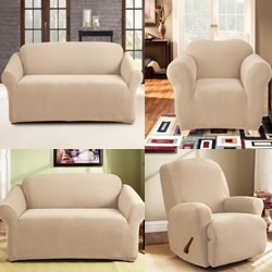 Pearson Ivory Sofa And Recliner Covers