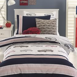 Motor Car Quilt Cover Set