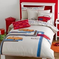 Retro Quilt Cover Set