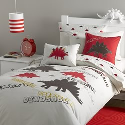 Stegosaurus Quilt Cover Set