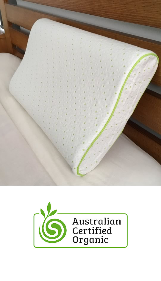 Bamboo Memory Foam Contour Pillow By World Of Bamboo