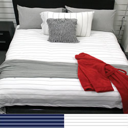 Bed T Stripe Quilt Cover Set