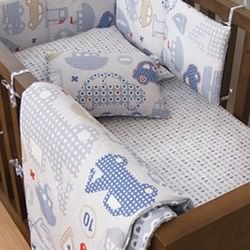 Travel Bug Cot Sheet Set
