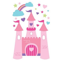 Princess Castle Wall Decals
