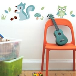 Forest Boy Wall Decals