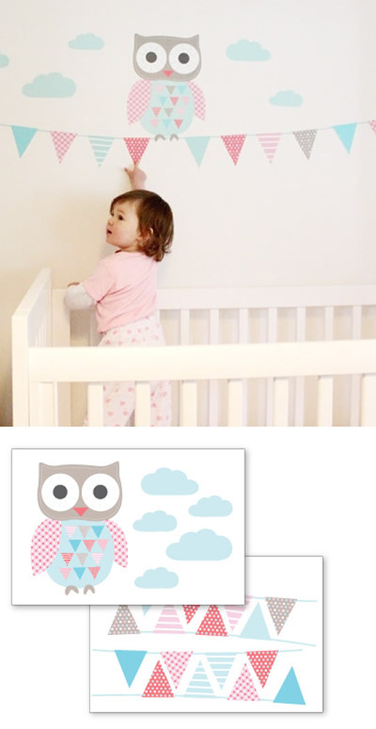 Owly Wall Decal