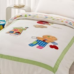 Gingerbread Man Quilt Cover Set