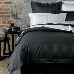 Millennia Anthracite Quilt Cover Set