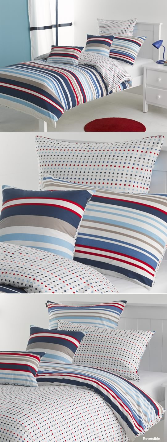Stylish stripe designs for boys bedrooms