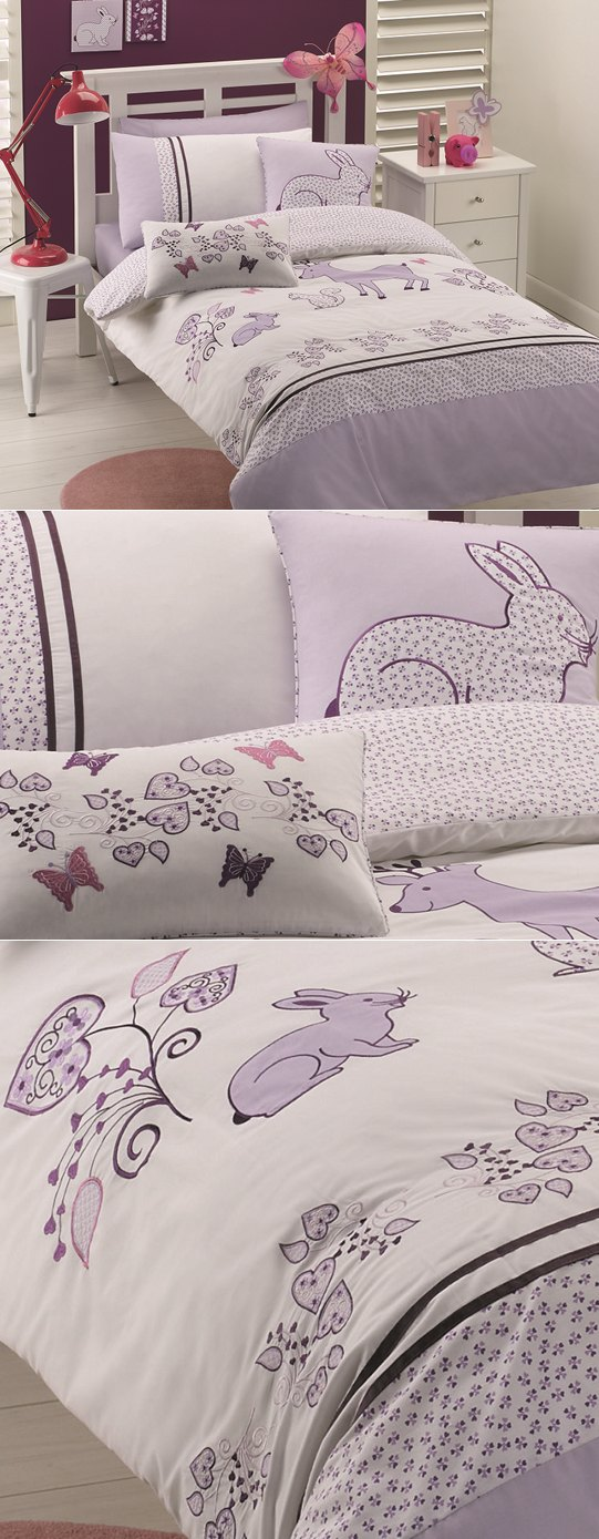 Great non-pink options for girl's bedrooms!