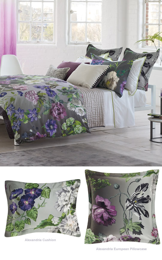 Painterly florals and damasks from Designers Guild