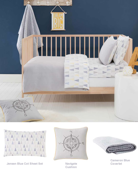 Designing A Baby S Room Consider The Following Points: Blue And Grey Tones For A Baby Boy's Nursery