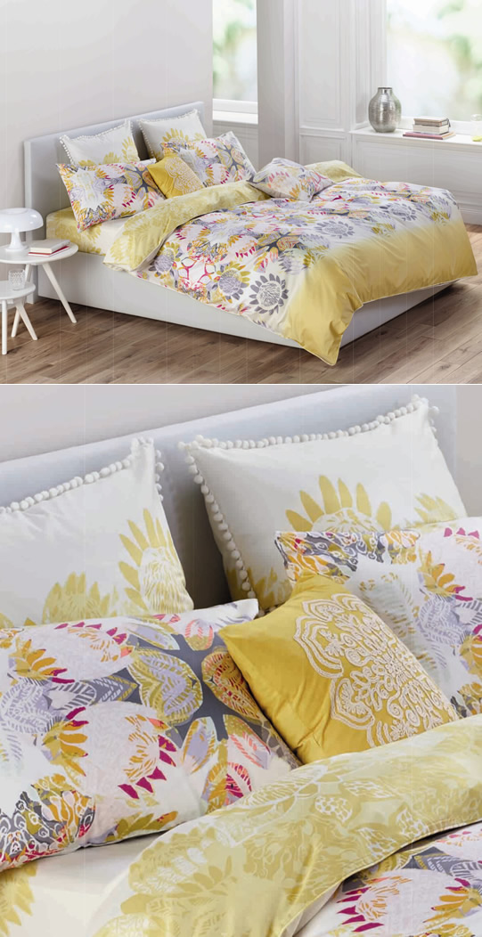 Bright and breezy bedlinen from Esprit