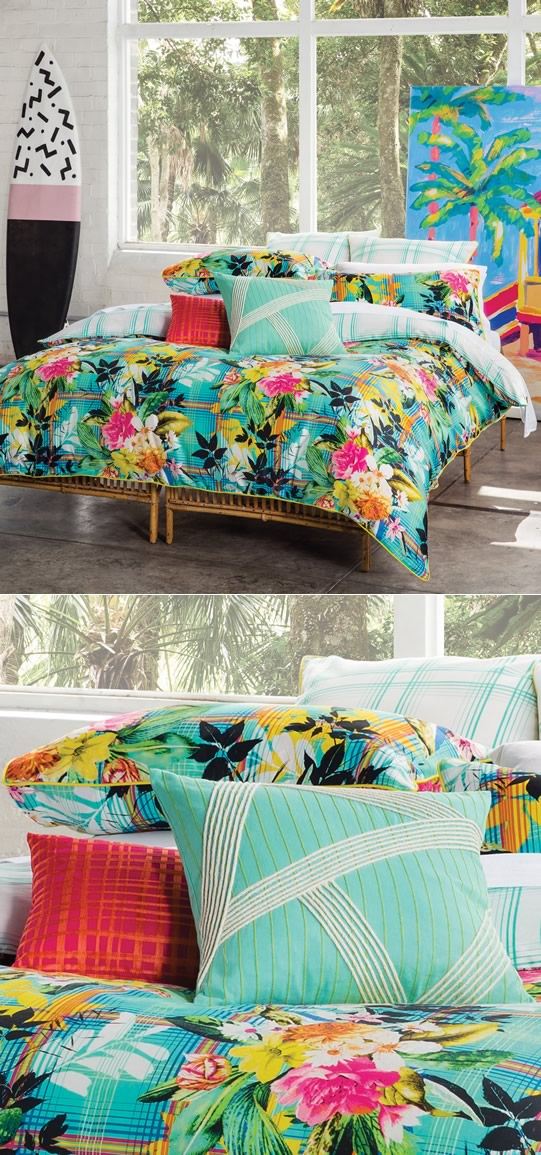 Create a tropical paradise in your bedroom