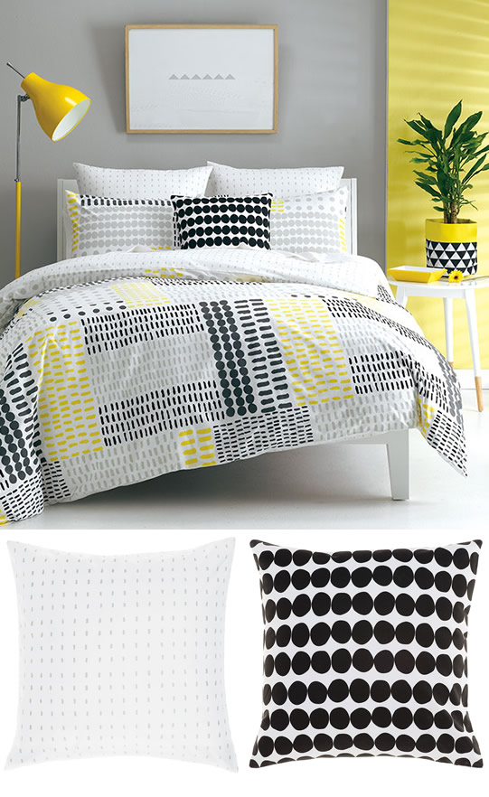 Create a classic Scandi style bedroom with Deco bedlinen